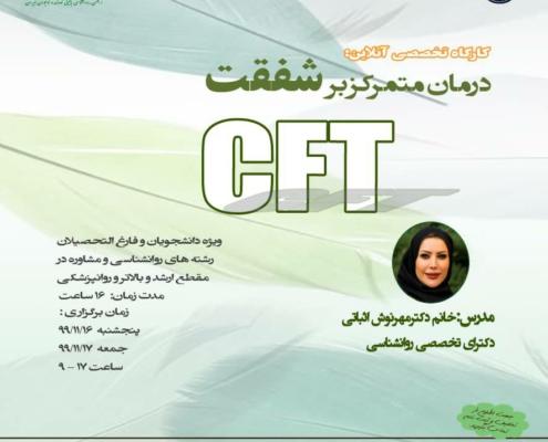 کارگاه آموزش درمان متمرکز بر شفقت